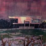 """Мика Плутицкая """"Лесной Олень. Библиотека II"""" 2019. Предоставлено: Artwin Gallery."""