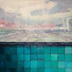 "Мика Плутицкая ""Пограничная II"" 2019. Предоставлено: Artwin Gallery."