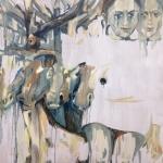 """Мика Плутицкая """"Лесной Олень. Гостьи ХI"""" 2020. Предоставлено: Artwin Gallery."""