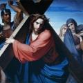 28. Моллер Федор «Несение креста» 1869 Холст, масло Государственный Русский музей