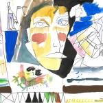 """Наташа Гончарова """"Рассказ текста об русской природе"""" 2020. Предоставлено: SAMPLE ART."""