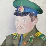 """Неизвестный художник """"Портрет военного"""". Предоставлено: Галерея АртНаив и Artcultivator."""