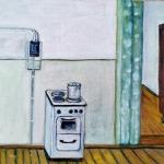 """Неизвестный художник """"Плита"""" 1978. Предоставлено: Галерея АртНаив и Artcultivator."""