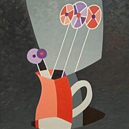 """Евгений Орлов """"Детские цветы"""" 1994. Предоставлено организаторами выставки."""