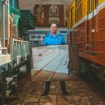 Обратная сторона метро. Фотография: Анна Скржинская.  Предоставлено: Музей Москвы.
