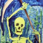 """Олег Котельников. Из серии """"La Mort en Rose"""". Предоставлено: Музей Арт 4."""