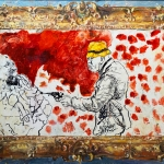 "Константин Лупанов ""Планета Герасимовых""  2020. Предоставлено: Арт-галерея VS Unio."