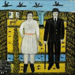 "Павел Леонов ""Сергей и Анна"" 2000. Предоставлено: Галерея ""Роза Азора""."