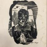 """Ефросинья Ермилова-Платова """"Старик"""" 1920-е. Предоставлено: Галерея """"Веллум""""."""