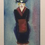 "Евгений Тейс ""Дама в шляпе"" 1920-е. Предоставлено: Галерея ""Веллум""."