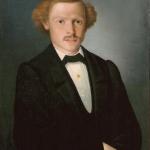 """Неизвестный художник """"Портрет неизвестного мужчины"""" Начало XIX века. Предоставлено: Вологодская областная картинная галерея."""