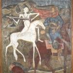 Конь бледный и вороной (всадники Апокалипсиса). Предоставлено: Государственный музей архитектуры имени А.В. Щусева.