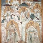 Символы семи церквей. Предоставлено: Государственный музей архитектуры имени А.В. Щусева.