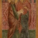 Иоаким и Анна с жертвенным барашком. Предоставлено: Государственный музей архитектуры имени А.В. Щусева.