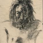 """Ге Н.Н. """"Голова Христа. Этюд для картины «Голгофа» (1893, ГТГ)"""". Государственная Третьяковская галерея. Предоставлено: Государственная Третьяковская галерея."""