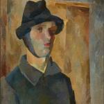 """Роберт Фальк """"Автопортрет с завязанным ухом"""" 1921. Собрание: Государственная Третьяковская галерея. Предоставлено: Государственная Третьяковская галерея."""