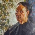 """4. Русаков Николай """"Портрет матери"""" 1911 Холст, масло 51х40 Челябинская картинная галерея"""