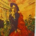 """7. Русаков Николай """"Эскиз к автопортрету в андалузском стиле"""" 1912 Бумага, графитный карандаш, акварель, белила 21,5х16,5 Челябинская картинная галерея"""