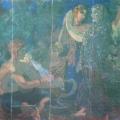 """24. Русаков Николай """"Индия"""" 1910-е Бумага, темпера 48,5х54 Собрание семьи художника"""
