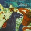 """32. Русаков Николай """"Индия. Сбор хлопка"""" 1924 Холст, масло 98,5х137 Челябинская картинная галерея"""