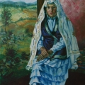 "63. Русаков Николай ""Мархаба"" 1937 Холст, масло 119х98 Челябинская картинная галерея"