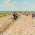 Андрей Рябушкин «Дорога» 1887 Государственная Третьяковская галерея.