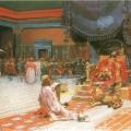 Андрей Рябушкин «Эсфирь перед Артаксерксом» 1887 Государственный Русский музей.