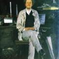 Андрей Рябушкин «Портрет И.Ф. Тюменева» 1886-1888 Таганрогская картинная галерея.