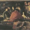 Андрей Рябушкин «Потешные Петра I в кружале» 1892 Государственная Третьяковская галерея.