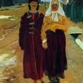 Андрей Рябушкин «В гости» 1896 Нижегородский государственный художественный музей.