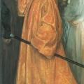 Андрей Рябушкин «Пожалован шубой с царского плеча» 1902 Государственный Русский музей.