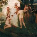 """18. Семирадский Генрих """"Вдохновение Гомера"""" 1879 Частное собрание"""