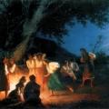 """23. Семирадский Генрих """"Ночь накануне Ивана Купалы"""" 1880-е Львовская картинная галерея"""