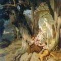 """30. Семирадский Генрих """"У храма (Идиллия)"""" 1881 Национальный художественный музей Украины, Киев"""