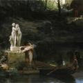 """38. Семирадский Генрих """"По примеру богов"""" 1879 Закарпатская картинная галерея, Ужгород"""