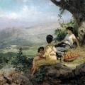 """51. Семирадский Генрих """"Отдых"""" 1896 Львовская картинная галерея"""