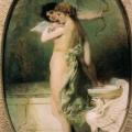 """52. Семирадский Генрих """"Красота и Любовь"""" 1894 Львовская картинная галерея"""