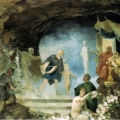 """59. Семирадский Генрих """"Орфей в подземном царстве"""" Конец 1880-х Львовская картинная галерея"""