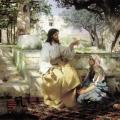 7.  Семирадский Генрих «Христос у Марфы и Марии»  1886  Государственный Русский музей