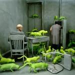"Сэнди Скогланд ""Радиоактивные кошки"" © 1980 Sandy Skoglund / Courtesy: Paci contemporary gallery (Brescia – Porto Cervo, IT). Предоставлено: Мультимедиа Арт Музей, Москва."