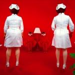 "Сэнди Скогланд ""Пациенты и медсестры"" @ 1982 Sandy Skoglund / Courtesy: Paci contemporary gallery (Brescia – Porto Cervo, IT). Предоставлено: Мультимедиа Арт Музей, Москва."