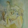 """101. Штеренберг Давид """"Женщина на балконе"""" 1934-1935 Холст, масло 44х35 Из собрания семьи художника"""