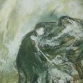 """114. Штеренберг Давид """"Из цикла """"Библейские мотивы"""" 1947-1948 Картон, масло 27х22 Из собрания семьи художника"""