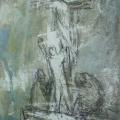 """116. Штеренберг Давид """"Из цикла """"Библейские мотивы"""" 1947-1948 Картон, масло 39х30,5 Из собрания семьи художника"""