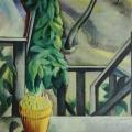 "17. Штеренберг Давид ""Балкон"" 1910-1912 Холст, масло 82х65 Из собрания семьи художника"