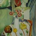 """18. Штеренберг Давид """"Цветы и гипс"""" 1908-1909 Холст, масло 116х73 Из собрания семьи художника"""