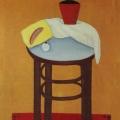 """26. Штеренберг Давид """"Оранжевый натюрморт"""" 1916 Холст, масло 135х65 Из собрания семьи художника"""