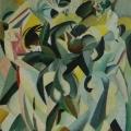 "34. Штеренберг Давид ""Танец"" 1913-1914 Холст, масло 46х37,5 Из собрания семьи художника"