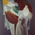 """77. Штеренберг Давид """"Стол с лампой и белой вазой"""" 1920 Холст, масло 139х99 Из собрания семьи художника"""