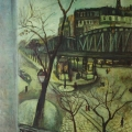 """8. Штеренберг Давид """"Париж. Этюд"""" 1912 Картон, масло 54,5х46 Из собрания семьи художника"""